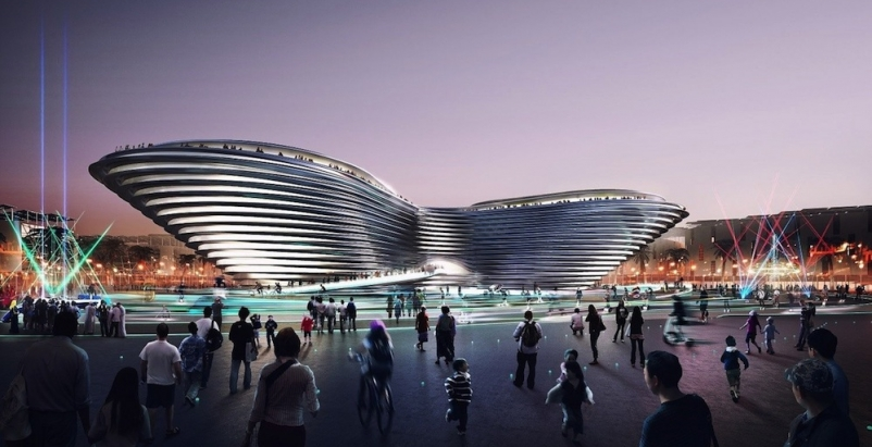 Bjarke Ingels, Foster + Partners, and Grimshaw all winners in Expo 2020 pavilion design competition