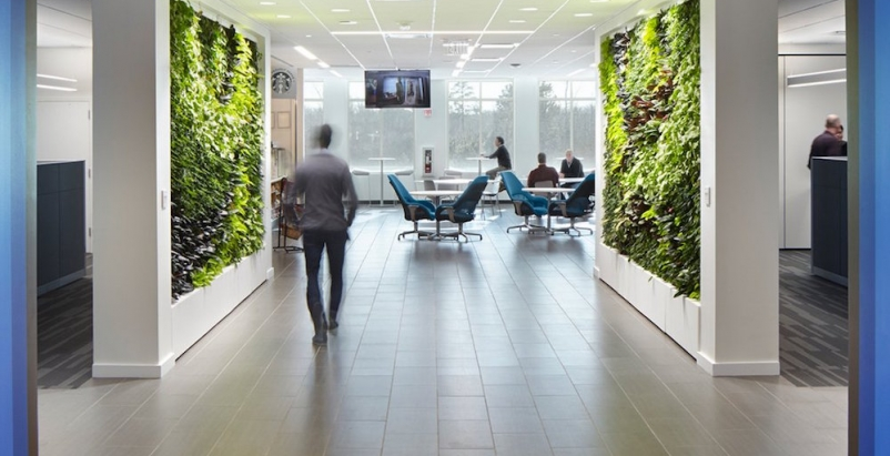 For employees, certain design strategies can lessen stress, improve health, and promote a greater sense of community connectivity, writes Perkins+Will project manager Jon Penndorf.