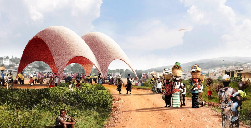 Norman Foster proposes Droneports as way to ship goods across Africa