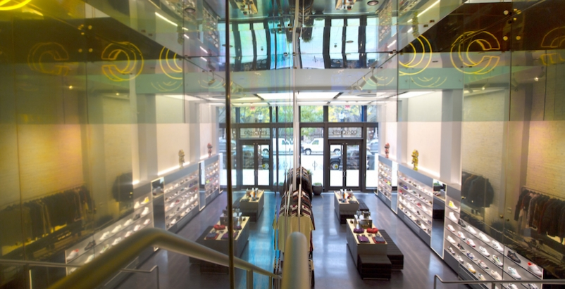 Concepts' Boston outlet is laid out like an art gallery