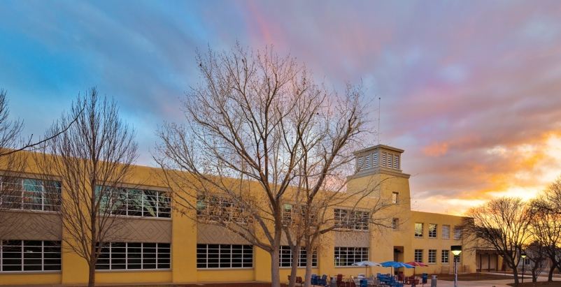 For the renovation of Mitchell Hall at the University of New Mexico (designed by
