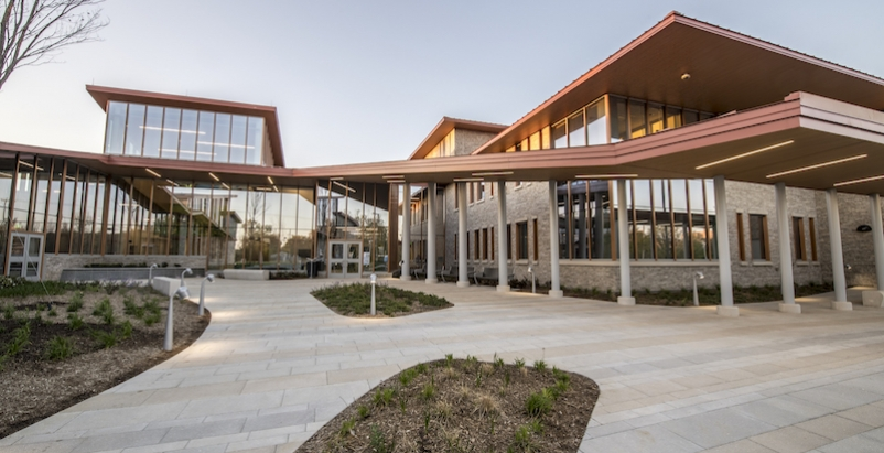 Exterior of the VTCC