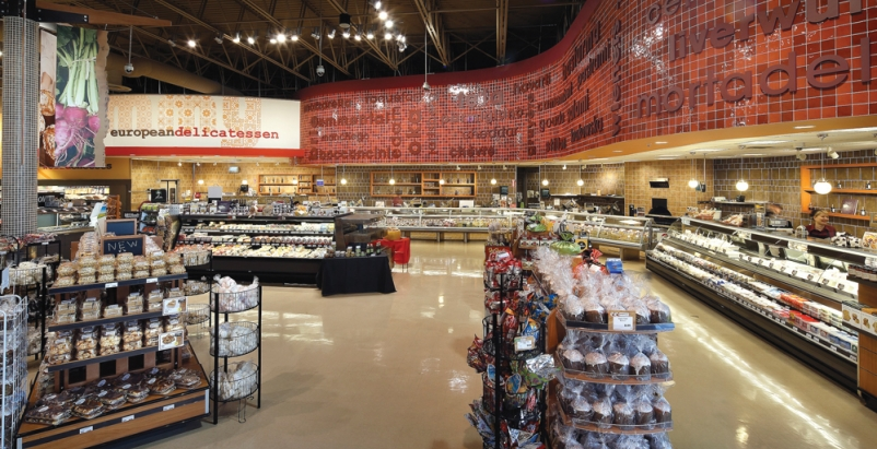 Created by api(+) through renovation of an existing store, Yummy Market brings E