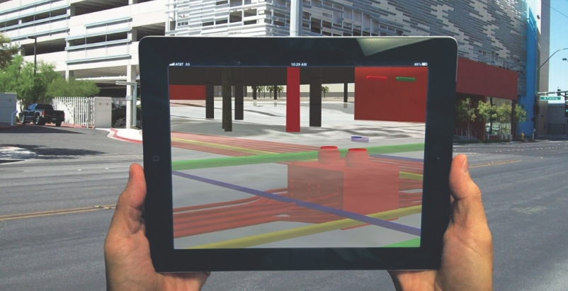 In one of the largest augmented reality applications to date, VTN Consulting wor
