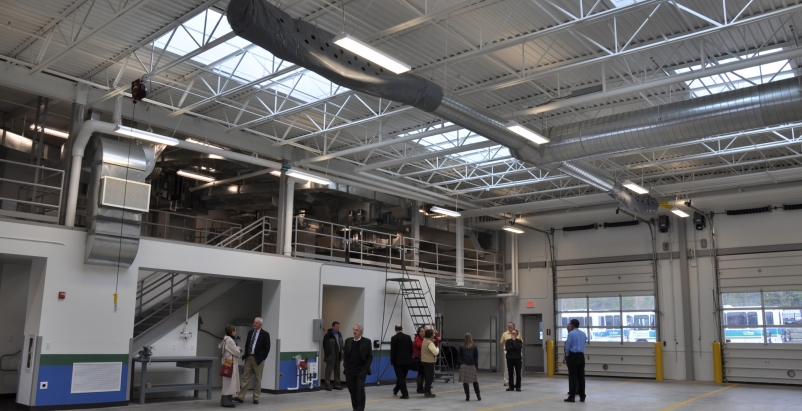 The Acadia Gateway Center administrative and maintenance facility is the first p
