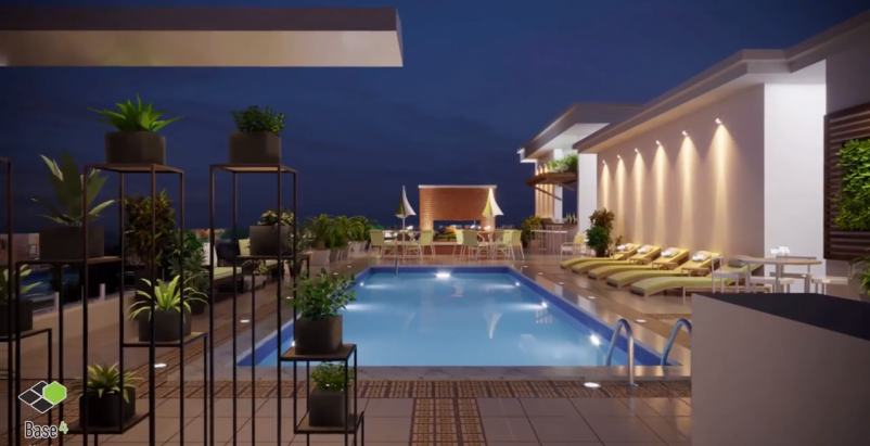 Hotel rooftop amenities: Ideas for converting idle rooftop spaces [video]