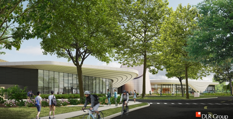 A rendering of the new addition to the Cleveland Museum of Natural History