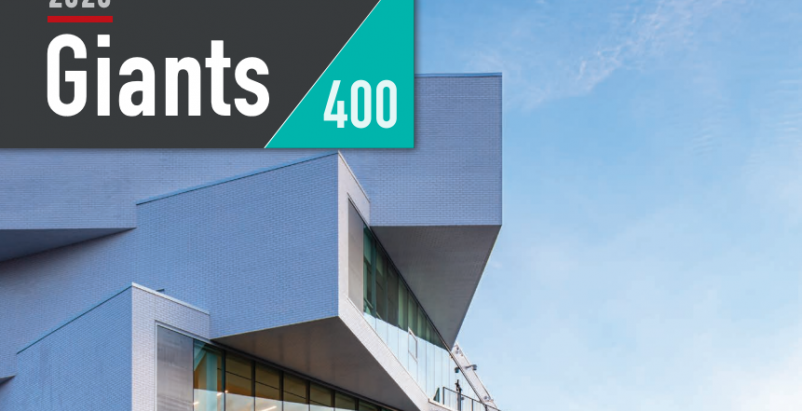 Download a PDF of all 2020 Giants 400 Rankings from Building Design+Construction magazine