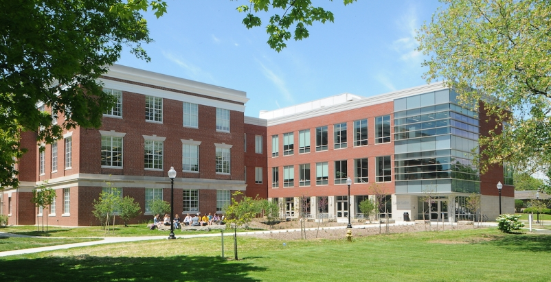 Barnes Hall of Science at Franklin College