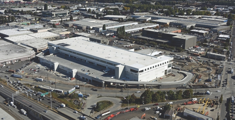 Prologis warehouse in Seattle