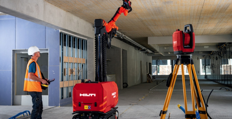 Meet Jaibot, Hilti's new construction jobsite robot