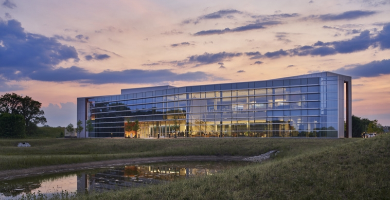 Indiana Toll Road's LEED Gold Administration and Operations Building