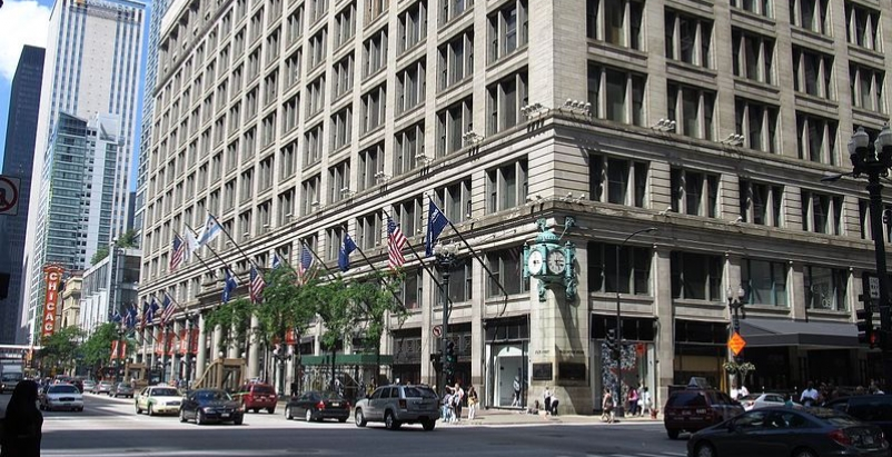 Macy's State Street store in Chicago