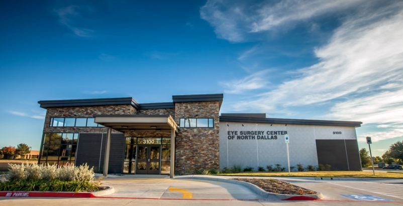 Texas eye surgery center captures attention in commercial neighborhood