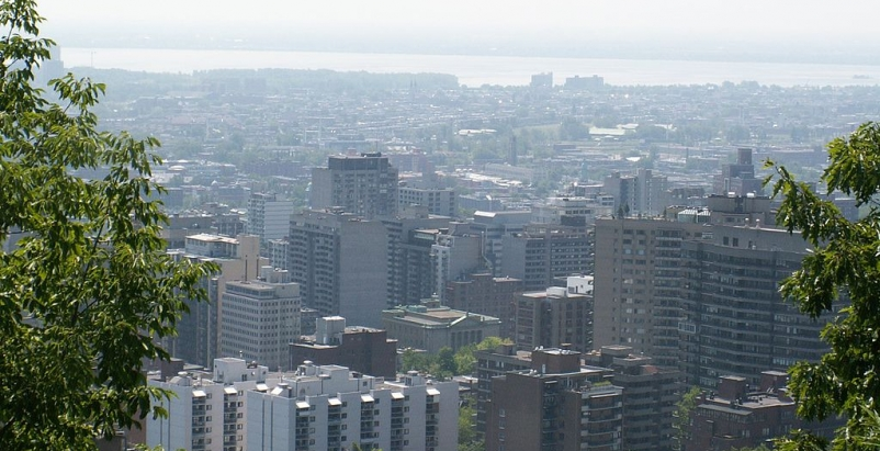 Photo of Montreal by Dickbauch (via Wikimedia Commons)