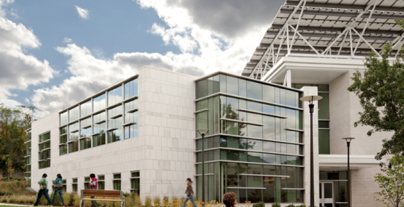 Net-zero energy Health Professions & Student Services Building, North Shore Comm