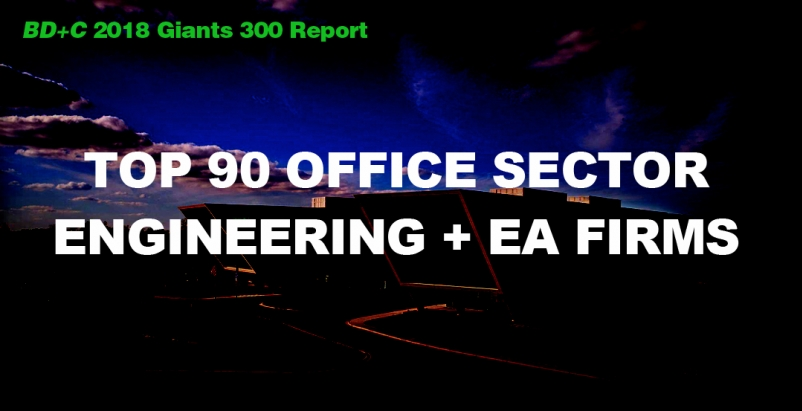 Top 90 Office Sector Engineering + EA Firms [2018 Giants 300 Report]