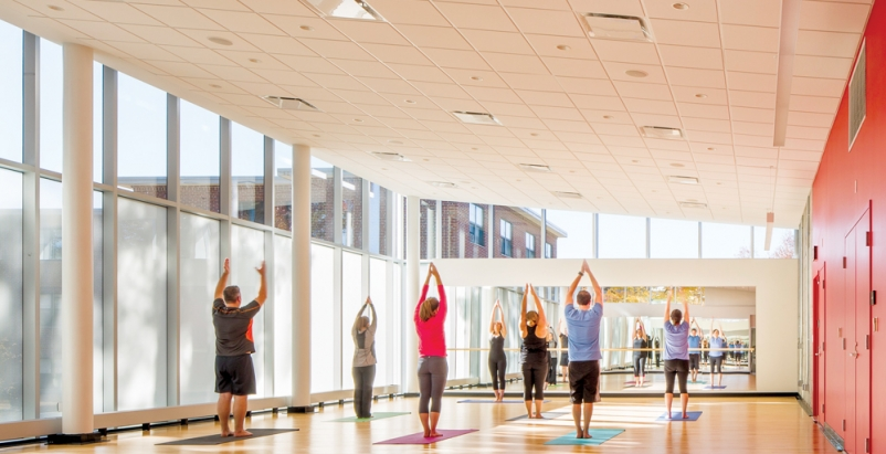 Pumped-up recreation centers help build body, mind, and spirit