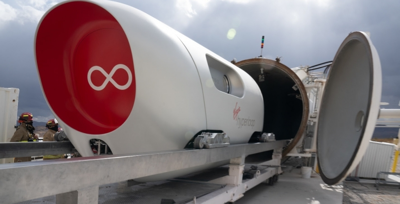 Pegasus Pod Hyperloop test