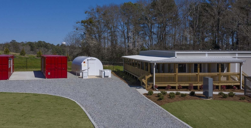 Auburn University, Robins & Morton open Construction Field Laboratory