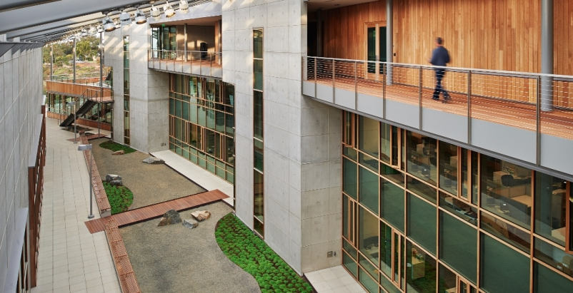 J. Craig Venter Institutes Landmark Net-Zero-Energy Genomic Laboratory, La Joll