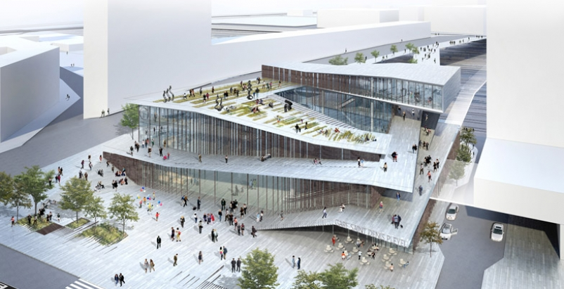 Kengo Kuma selected to design new Paris Metro station
