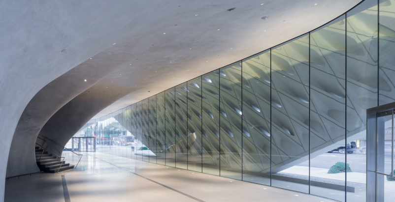 First look: Diller Scofidio + Renfro's The Broad museum in Los Angeles