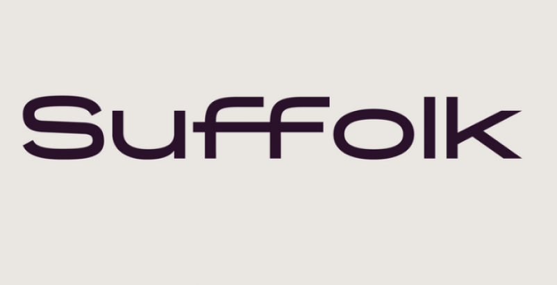 New Suffolk wordmark