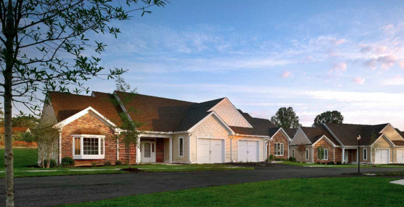 The cottages are registered with the U.S. Green Building Council with the goals