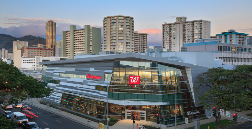Walgreens' flagship in Hawaii harkens back to the island's fishing culture