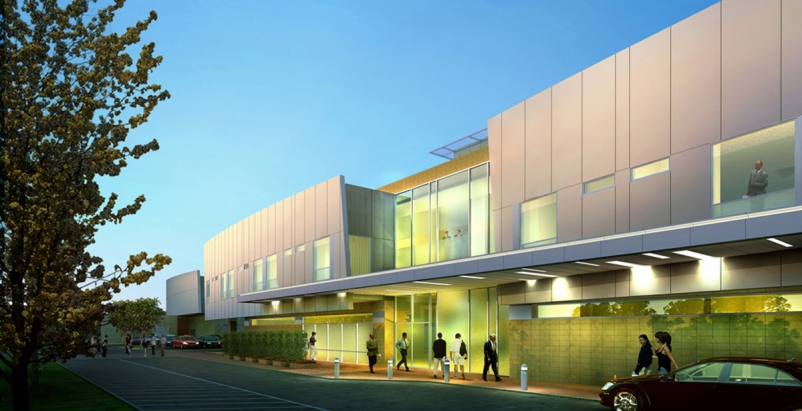 The Critical Care Building is the centerpiece of the hospitals $94 million seco