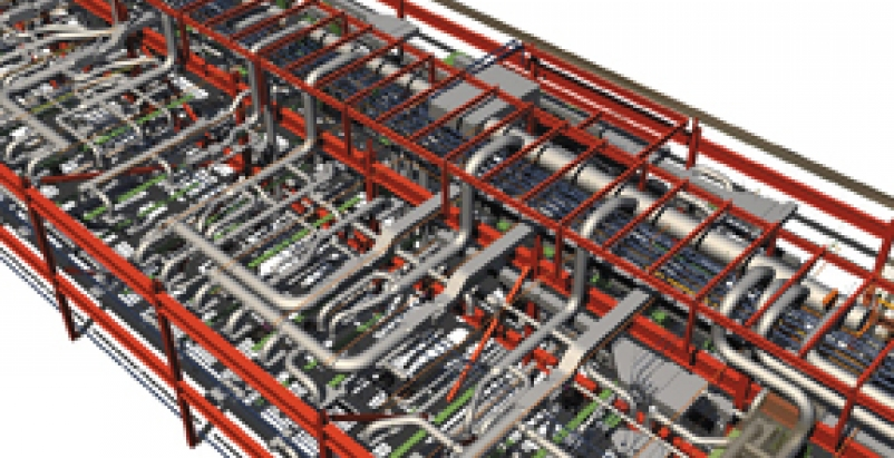 BIM models (as in the above project) have evolved to a level of information beyo