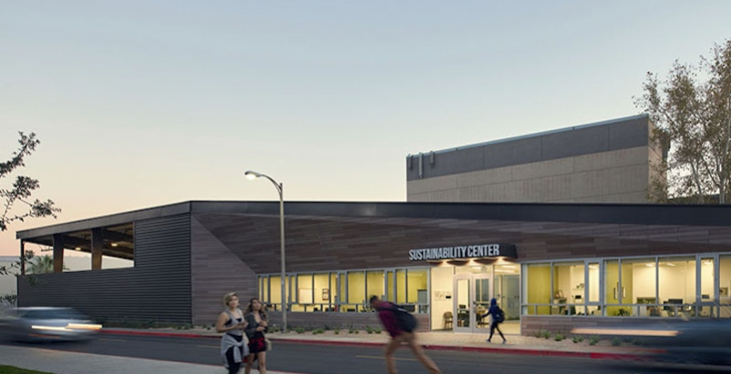 The CSU Northridge Sustainability + Recycling Center