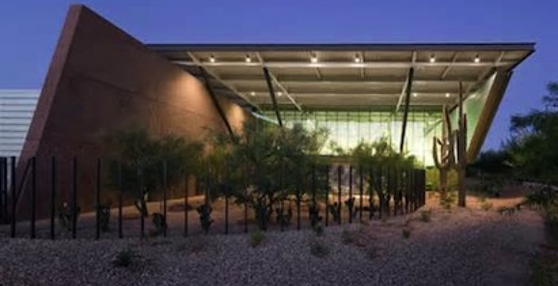 The LEED Gold Appaloosa Branch Library, Scottsdale, Ariz.