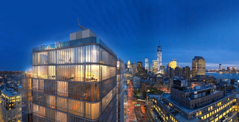 Renzo Piano designs new New York City glass tower