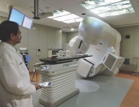 The new 6,115-sf Radiation Oncology department in Berkeley Heights, N.J.