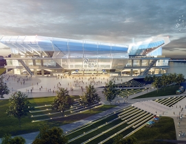 HOK unveils renderings and video of new St. Louis NFL stadium