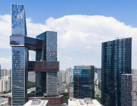 Tencent headquarters © Terrence Zhang, courtesy NBBJ