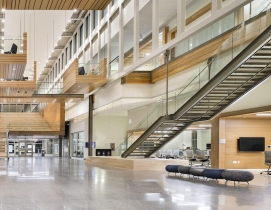 """New University of Calgary research center features reconfigurable """"spine"""""""