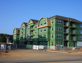 Builder confidence rises on multifamily's strength
