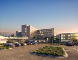 Rendering of Gulf Coast Medical Center
