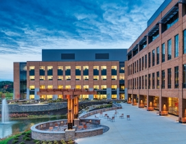 Alfond Center for Health, in Augusta, Maine, was fulfilled through a three-party