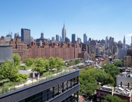 512 West 22nd Street roof terrace