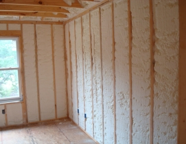 fiberglass, batt, spray foam, insulation