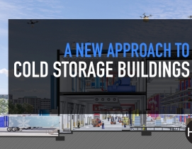A new approach to cold storage buildings