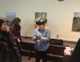 VT students virtual reality project