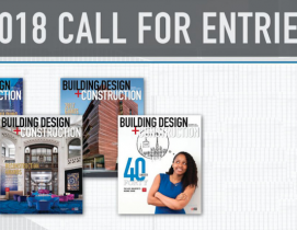 2018 call for entries: BD+C awards programs