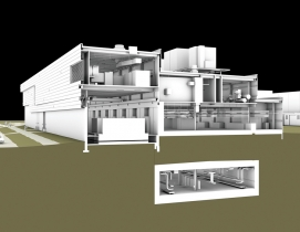 SmithGroupJJR used BIM with its design of the 230,000-sf Facility for Rare Isoto