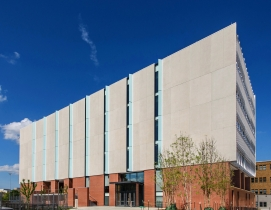 The exterior of the BNIM-designed Patient-Centered Care Learning Center