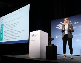 Bernita Beikmann, AIA, HKS, speaking at LCI Congress 2019